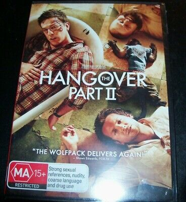 The Hangover Part 2 II (Bradley Cooper Ed Helms)(Australia Region 4) DVD – New