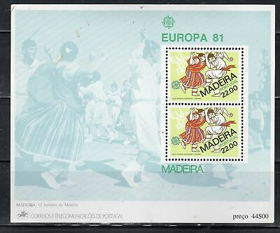 Portugal Madeira  Stamps Sheet Mint Never Hinged    Lot  39243