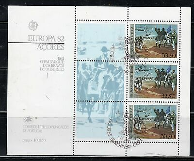 Portugal Acores Azores  Stamps Sheet Used     Lot  39245