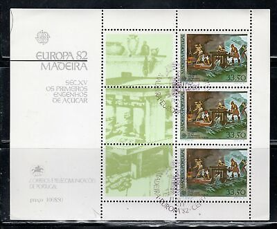 Portugal Madeira  Stamps Sheet Used     Lot  39246