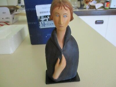 ^Parastone Moseion collection - Modigliani blue eyed woman figurine, can p/up