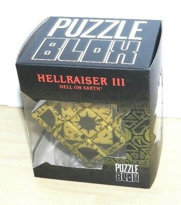 Hellraiser Cube Puzzle Box Movie Prop Replica New Sealed Mezco Movie Piece