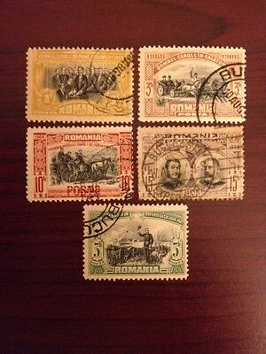 Romania 1906. 40 Years Rule Of The Prince & King    Stamps