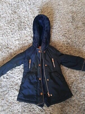 Girls Ted Baker Coat 2-3 Years