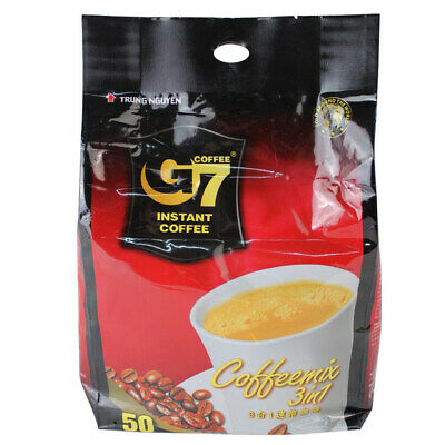 Trung Nguyen G7 Instant Coffee 3in1 50 sachetsX16g **Local Not Export Product**