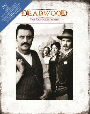 Deadwood (2004): The Complete Series (Timothy Olyphant) (13 Disc) BLU-RAY NEW