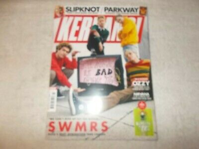 Kerrang! Magazine Issue 1760 16th February 2019 SWMRS Art Print Slipknot Parkway