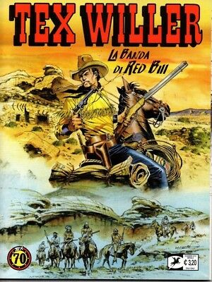 TEX WILLER N. 2 La banda di Red Bill Fumetto Bonelli Dicembre 2018