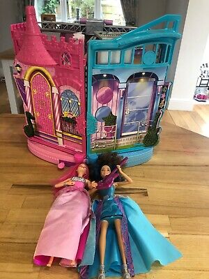 Barbie Rock-n-Royals Transforming Stage Playset With Two Singing Dolls