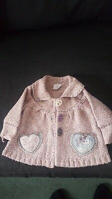 girls next cardigan 6-9 months