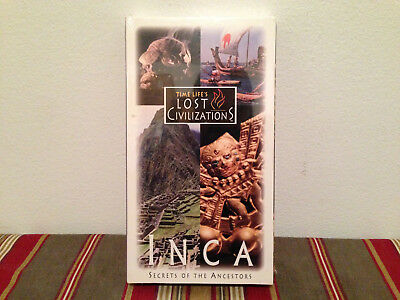 Time life's lost civilizations inca secrets of the ancestors  VHS SEALED