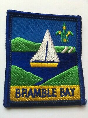Australia. Queensland. Bramble Bay District Scout Badge.