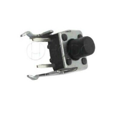 Right Angle Momentary On Push Button Micro Switch 6X6X7mm 2 pin UK - 2 pack