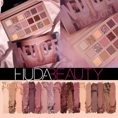 Genuine Huda Beauty The New Nude Pro Eye Shadow Palette 18 Colours UK SELLER