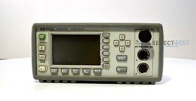 AGILENT / HP EPM-442A DUAL-CHANNEL POWER METER, -70 TO +44 dBm (REF:448)