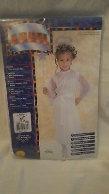 66935fe02e Angel Child Costume Christmas Fancy Dress Nativity Play - Age - 4-6 Years