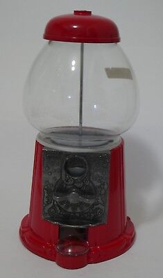 Vintage 1985 Carousel Gumball Machine No-10-Junior Red Ford Gum