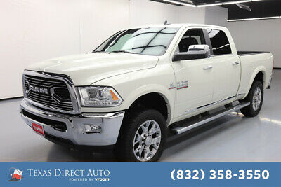 2016 Ram 2500 Longhorn Limited Texas Direct Auto 2016 Longhorn Limited Used Turbo 6.7L I6 24V Automatic 4WD