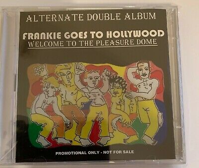 Frankie Goes to Hollywood Welcome to the Pleasuredome 2CD promo alternate album