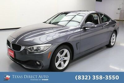 2015 BMW 4-Series 428i xDrive Texas Direct Auto 2015 428i xDrive Used Turbo 2L I4 16V Automatic AWD Coupe