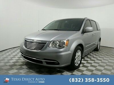 2016 Chrysler Town & Country Touring Texas Direct Auto 2016 Touring Used 3.6L V6 24V Automatic FWD Minivan/Van