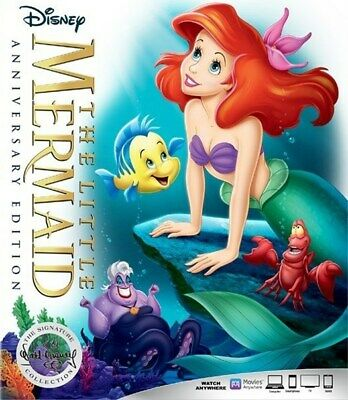 The Little Mermaid Digital HD Code