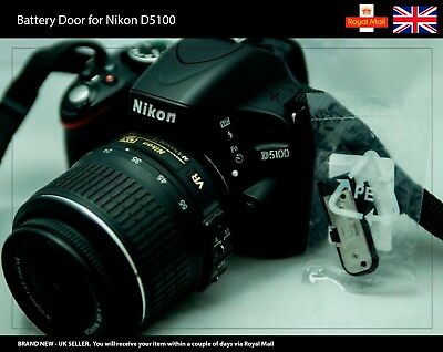 Replacement Battery Door / Cover / Lid for NIKON D5100 Camera