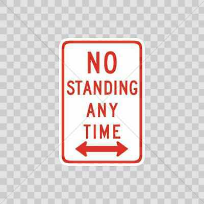 Decals Decal No standing any time 19X 29670