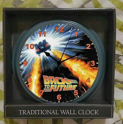 Back To The Future Themed Wall Clock