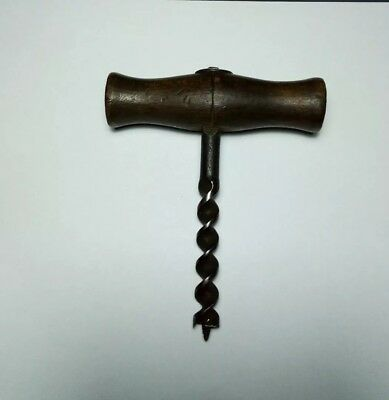 antique gimlet auger hand drill 11.7mm or 0.46inch diameter