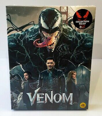 VENOM [3D + 2D + BONUS DISC] Blu-ray STEELBOOK  [WeET COLLECTION] FS C <#79/600>