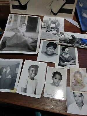 African american photo lot of 10