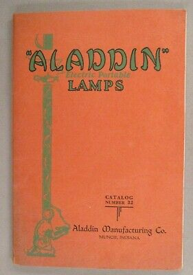 Aladdin Lighting CATALOG - circa 1930 ~~ lamps