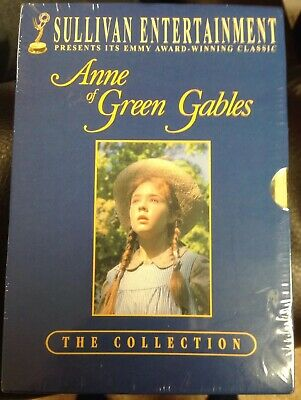Anne of Green Gables Trilogy Box Set The Collection Brand New All 3 Mini-series