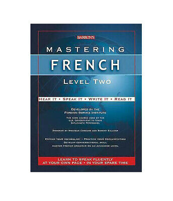Book and 12 Cassettes Mastering Spanish Level 2