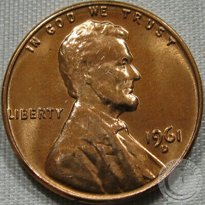 1961-D Unc Lincoln Memorial Penny Nice Coin **Make An Offer**