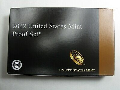 2012 US MINT PROOF SET - (Total 14 Coins/Set)  - With Box and COA