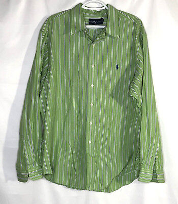17a604e8 Polo Ralph Lauren Classic Fit Oxford Buttondown Shirt Long Sleeve Shirt Mens  XXL