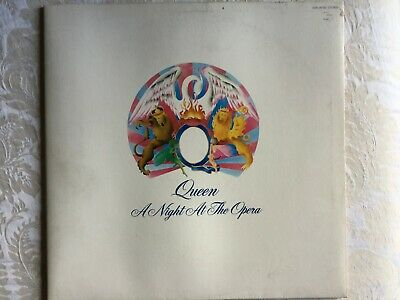 Original Vintage 1975 Queen A Night At The Opera Record Album Vinyl Japan Issue