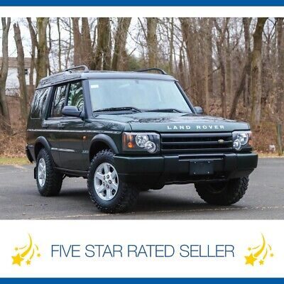 2003 Land Rover Discovery Discovery 4WD Super Low 69K Serviced CARFAX 2003 Land Rover Discovery 4WD Super Low 69K Serviced CARFAX