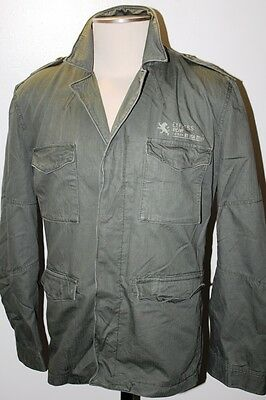 New Express Air Force Style Army Field Jacket Sport Blazer  Size Xl Msrp$228