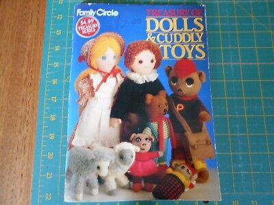 Family Circle - Treasury Of Dolls & Cuddly Toys Book - Good Condition -