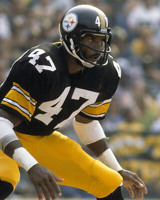 a16c49d3255 Pittsburgh Steelers MEL BLOUNT Glossy 8x10 Photo NFL Football Print Poster
