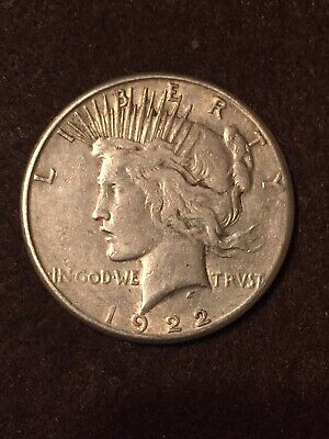1922-S Peace Silver Dollar Circulated Lot 30
