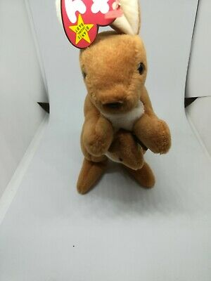 af20809bfd3 TY BEANIE BABY Pouch the Kangaroo With Joey 8