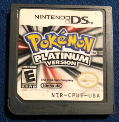 ONE - Pokemon: Platinum Version (Nintendo DS, 2009) AUTHENTIC TESTED WORKS