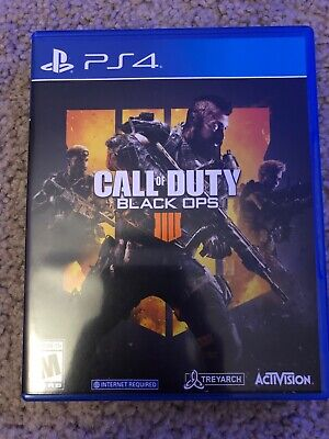 Call of Duty: Black Ops 4 (Sony PlayStation 4, 2018)