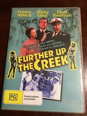 FURTHER UP THE CREEK Frankie Howerd Like New B/W DVD R All PAL