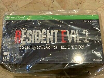 Resident Evil 2 Collector's Edition Gamestop Exclusive Microsoft Xbox One