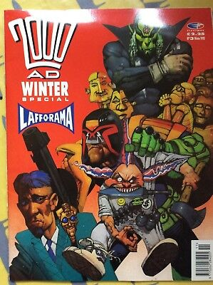 2000 AD Winter Special No 3 1990 Good condition